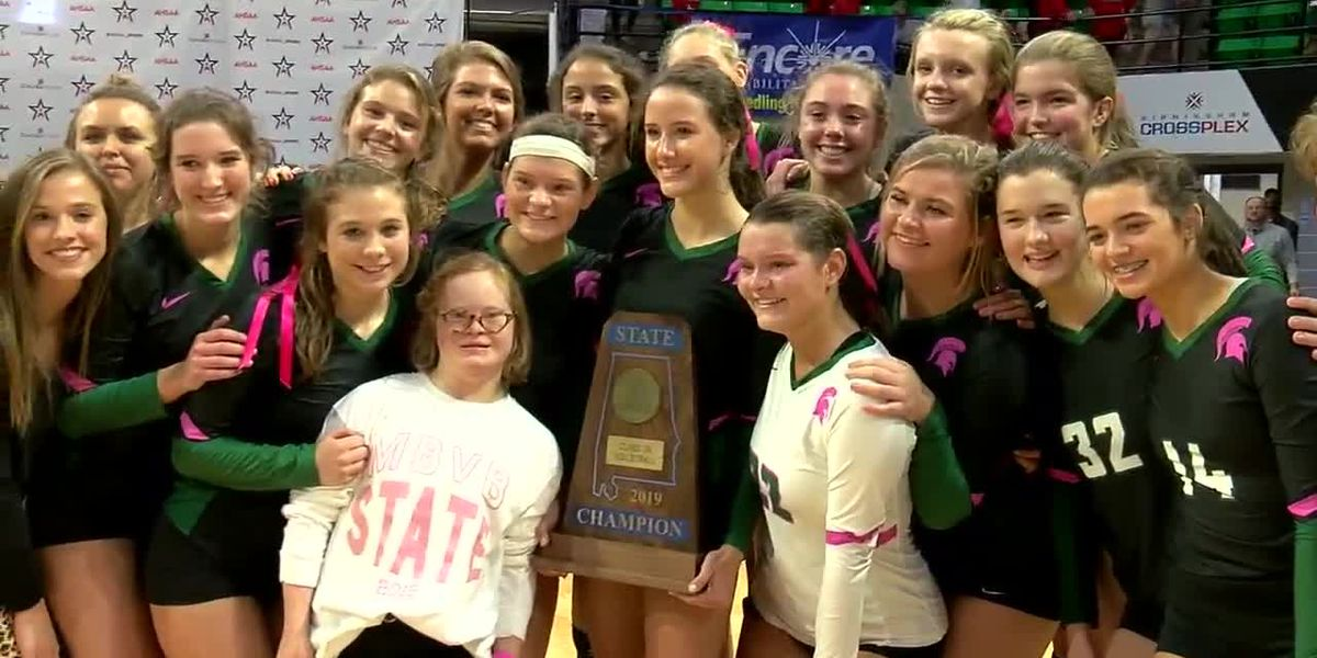Mountain Brook knocks off 2-time defending 7A Champs McGill-Toolen to win 7A State Volleyball title