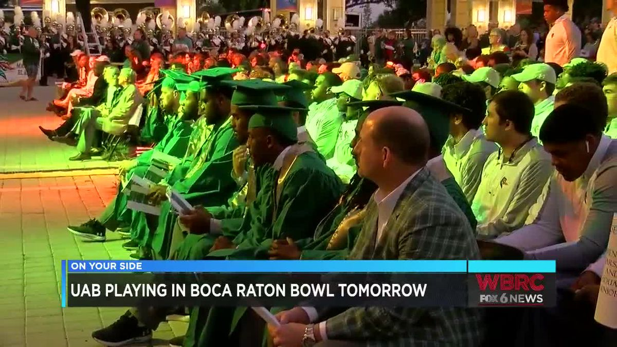 UAB Football holds special graduation ceremony for seniors