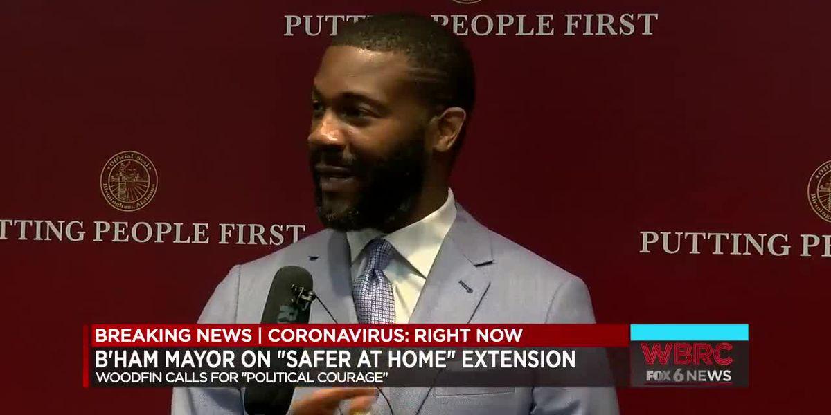 Birmingham mayor calls for political courage in coronavirus fight