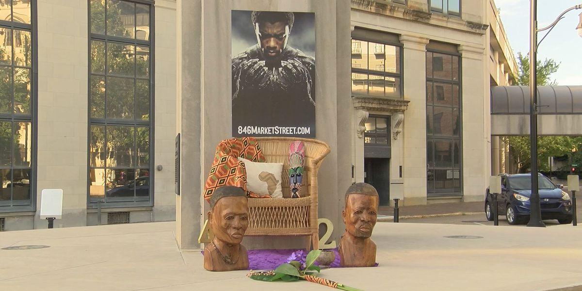 Late actor Chadwick Boseman commemorated at Montgomery vigil