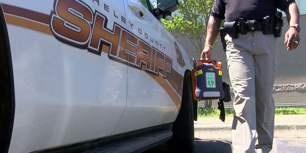 Shelby County Sheriff's Office buys 100 AEDs for patrol cars