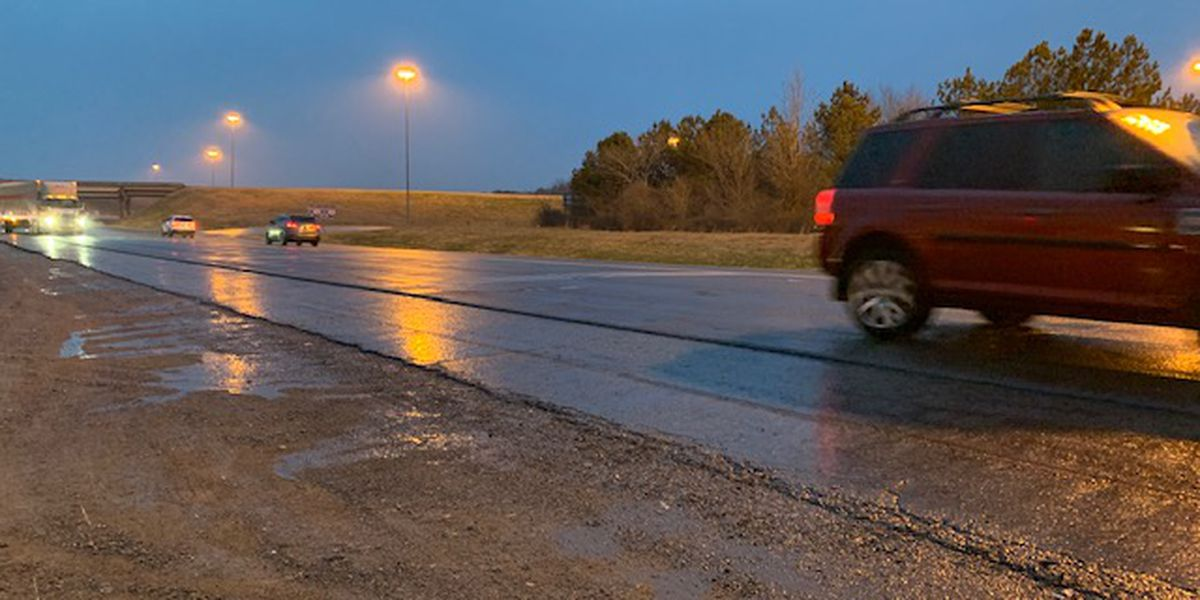 Icy roadways again a problem in parts of Alabama