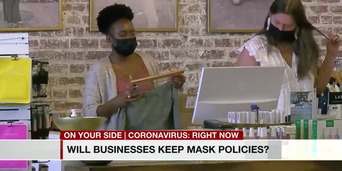 Will businesses keep mask policies?