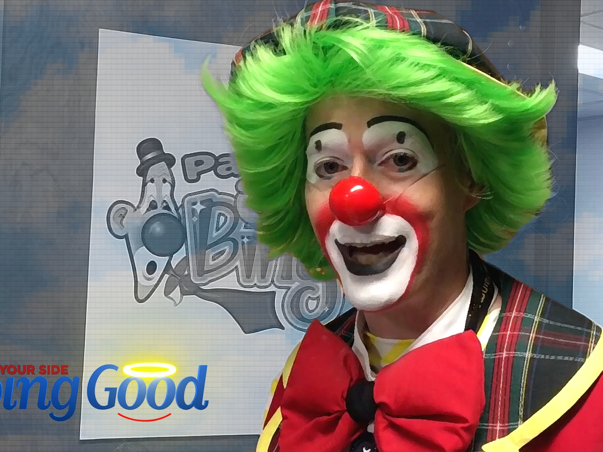 Fazo the Clown 'Doing Good' at UAB