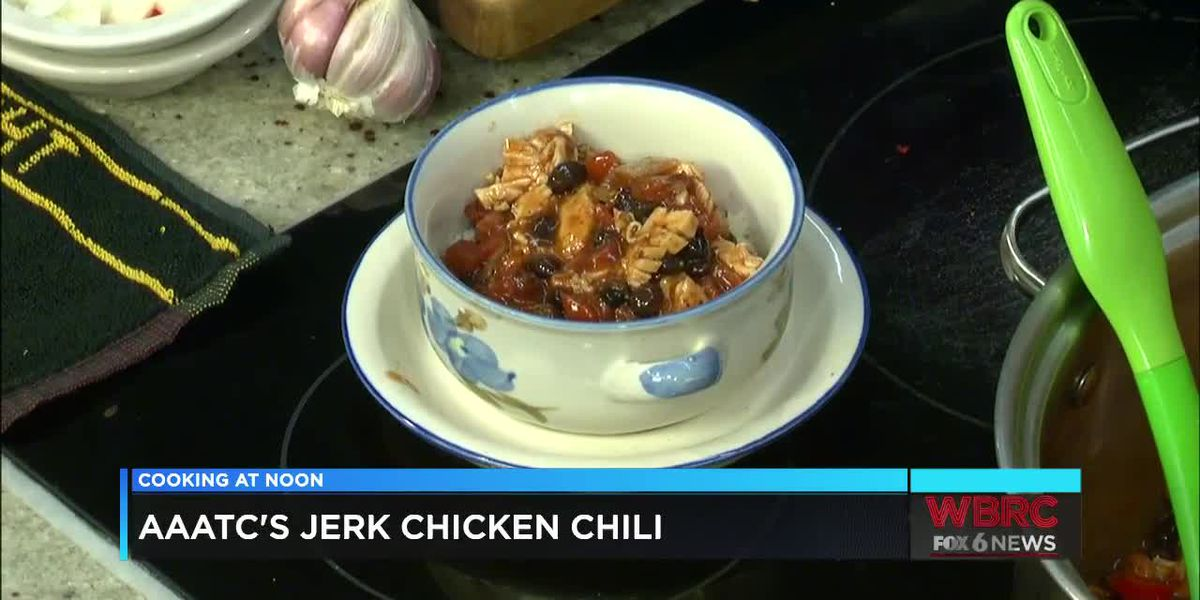 AAATC: Jerk chicken chili