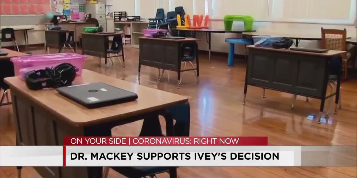 Dr. Mackey supports Gov. Ivey's decision on health order
