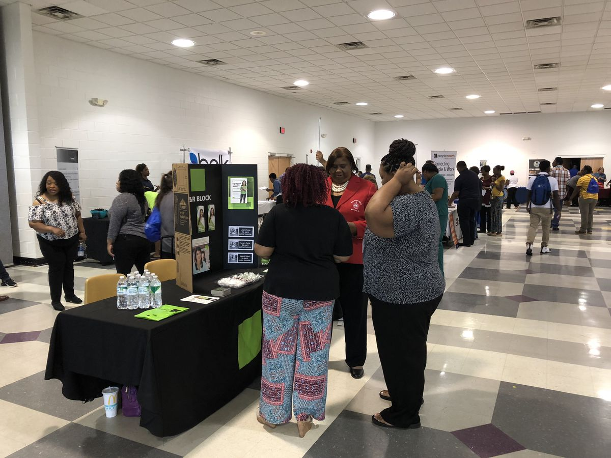 Sorority Hosts Job Fair in Tuscaloosa