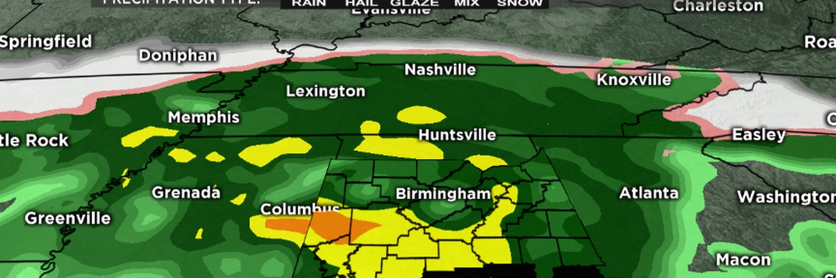 Have an umbrella with you Friday, scattered showers expected