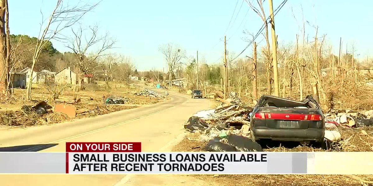 Small business loans available after recent tornadoes