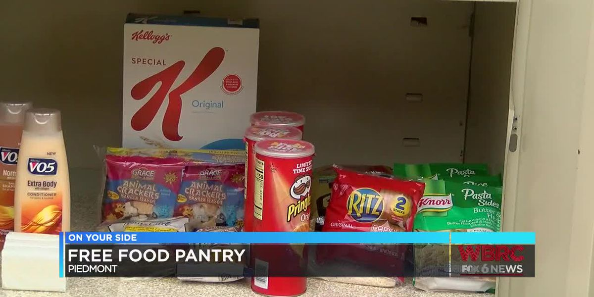 Piedmont free food pantry